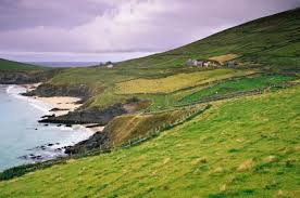 The coast of Ireland