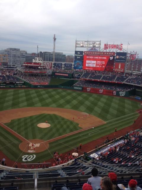 Nationals Stadium in Washington, DC