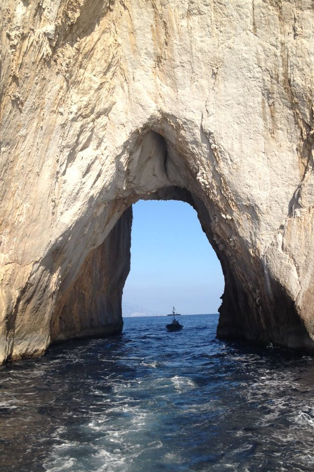 Photo By Patti Raab Blue Grotto Isle of Capri